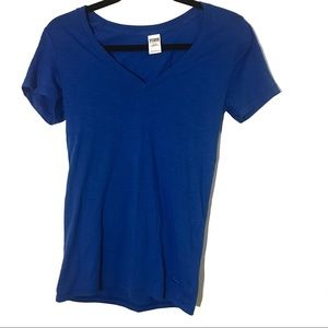PINK V-Neck T-Shirt (Small)